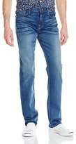 7 For All Mankind Men's Standard Straight-Leg Luxe Performance Jean, North Pacific