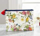 Pottery Barn Tami Floral Print Cosmetic Pouch