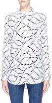 Equipment 'Signature' star print silk crepe shirt