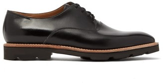 John Lobb Zennor Leather Derby Shoes - Black