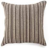 Amity Home Emition Ebony Square Throw Pillow in Grey