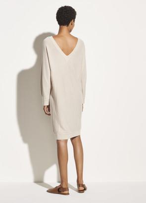 Vince Wool Cashmere Dolman Sleeve Dress