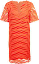 Trina Turk eyelet-pattern shift dress