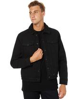 Swell Midnight Mens Denim Jacket Black