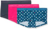 Bjorn Borg Women's Mini Shorts, Bb Contrast Dot, 3-P Half Slip