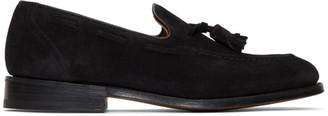 Church's Churchs Black Suede Kingsley 2 Slippers