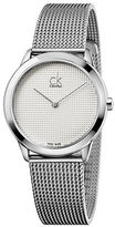 Calvin Klein Stainless Steel Mesh Watch, K3M2212Y