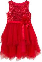 Rare Editions Sequin Bodice Dress, Toddler Girls & Little Girls (2T-6X)
