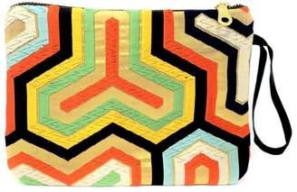 Simba Handmade Vintage Silk Wristlet