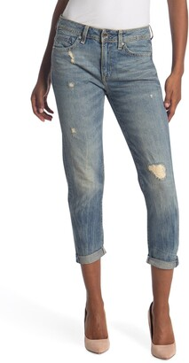 G Star Midge Saddle Boyfriend Jeans