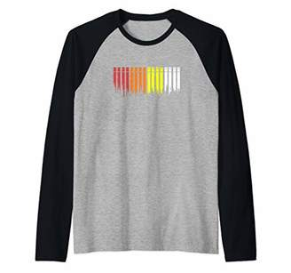 Drum Machine Drummer Drum Raglan Baseball Tee