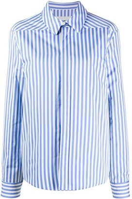 Jil Sander Striped Poplin Shirt