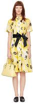 Kate Spade Sunny daisy organza shirtdress