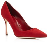Sergio Rossi Godiva Pointed Toe High Heel Pumps