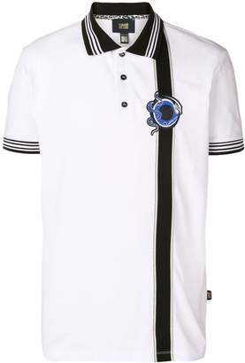 Class Roberto Cavalli embroidered logo polo shirt