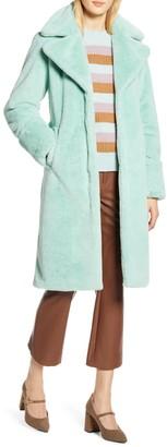 Halogen X Atlantic-Pacific Faux Fur Coat