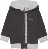 HUGO BOSS Logo cotton jacket 6-36 months