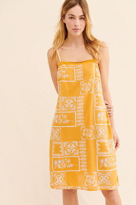 Anthropologie Sibyl Embroidered Dress