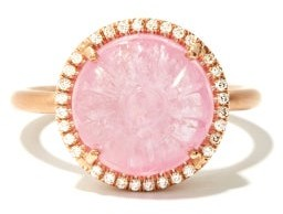 Irene Neuwirth Gemmy Gem Diamond, Tourmaline & 18kt Gold Ring - Pink Multi