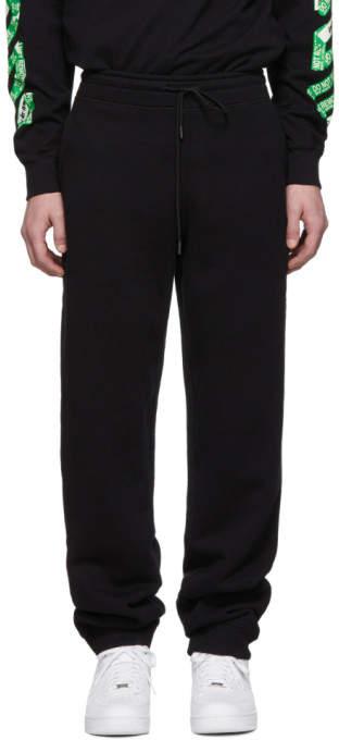 Off-White Off White SSENSE Exclusive Black Diag Arrows Lounge Pants