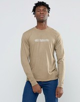 Obey Quickstrike Long Sleeve T-shirt With Logo