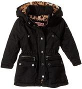 Urban Republic Kids - Cotton Twill Anorak with Faux Fur Lining Girl's Coat