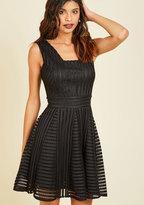 YA (yalosangeles) Warm Welcome Home A-Line Dress in Noir