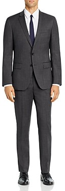 BOSS Huge/Genius Birdseye Weave Slim Fit Suit