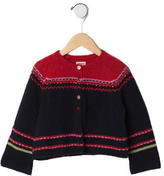 Catimini Girls' Wool Cardigan