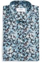 Eton Men's Slim Fit Splatter Print Dress Shirt