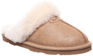 BearPaw Loki II Genuine Sheepskin Fur Lined Slipper