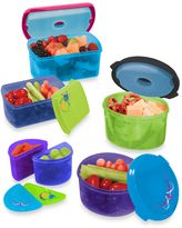 Fit & Fresh Kid's 14-Piece Food Storage Container Set with Removable Ice Packs