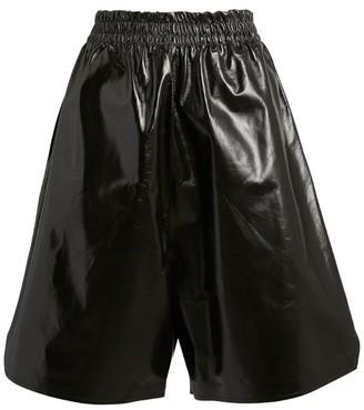 Bottega Veneta Lambskin Elasticated Shorts