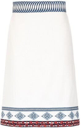 Isolda embroidered Amelie skirt