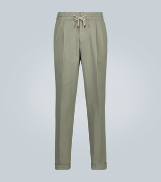 Brunello Cucinelli Relaxed-fit cotton pants
