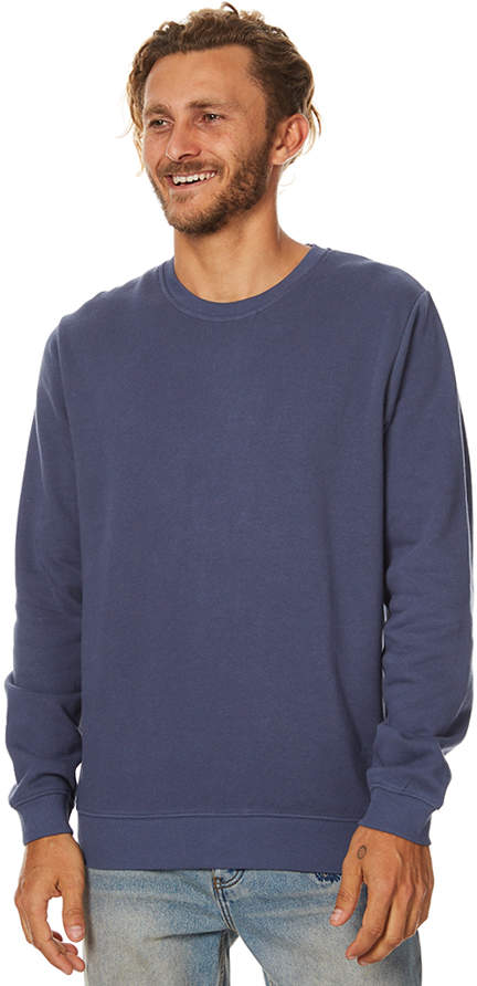Swell Pigment Mens Crew Blue