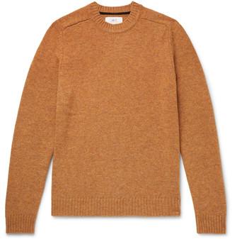 Melange Home Mr P. Shetland Wool Sweater