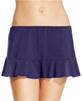 Gottex Profile by Ruffled Swim Skirt Bottom