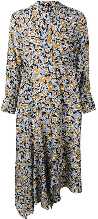 Christian Wijnants Dhana foliage print dress