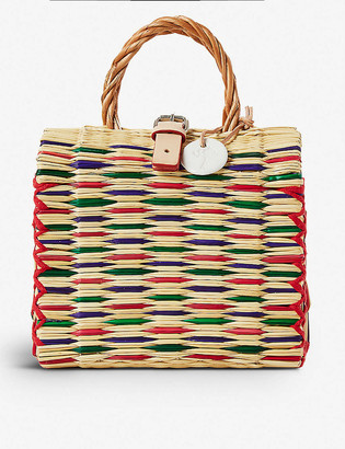 The Conran Shop Toino Abel Celeste woven bag