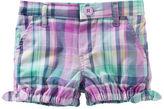 Osh Kosh Plaid Bubble Shorts