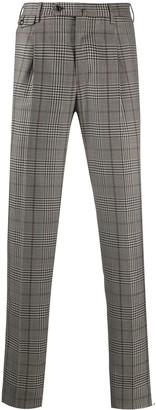Pt01 Virgin Wool Plaid Trousers