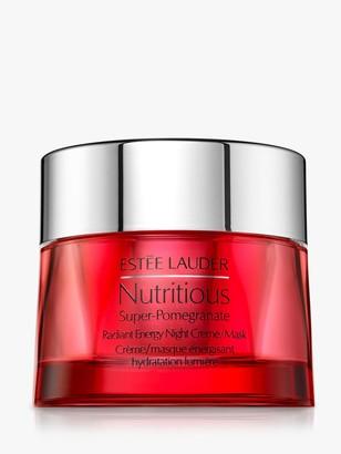 Estee Lauder Nutritious Super-Pomegranate Radiant Energy Night Creme/Mask, 50ml