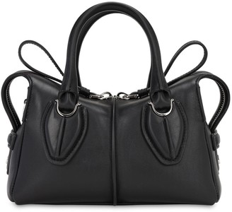 Tod's MINI PATENT LEATHER D BAG