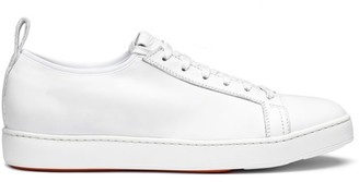 Santoni Clean Iconic Leather Sneakers