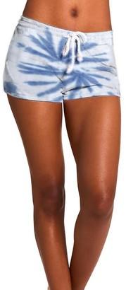 Steve Madden Tie-Dye Shorts Blue Multi