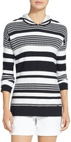 St. John Multi Stripe Pullover Sweater