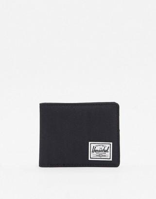 Herschel Roy RFID billfold wallet in black