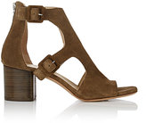 Rag & Bone Women's Matteo Double-Buckle Sandals-Green