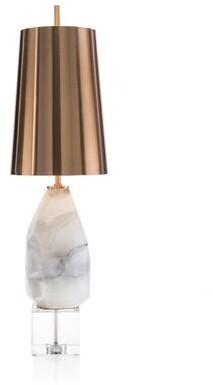 "John-Richard Collection 32"" White Buffet Lamp"